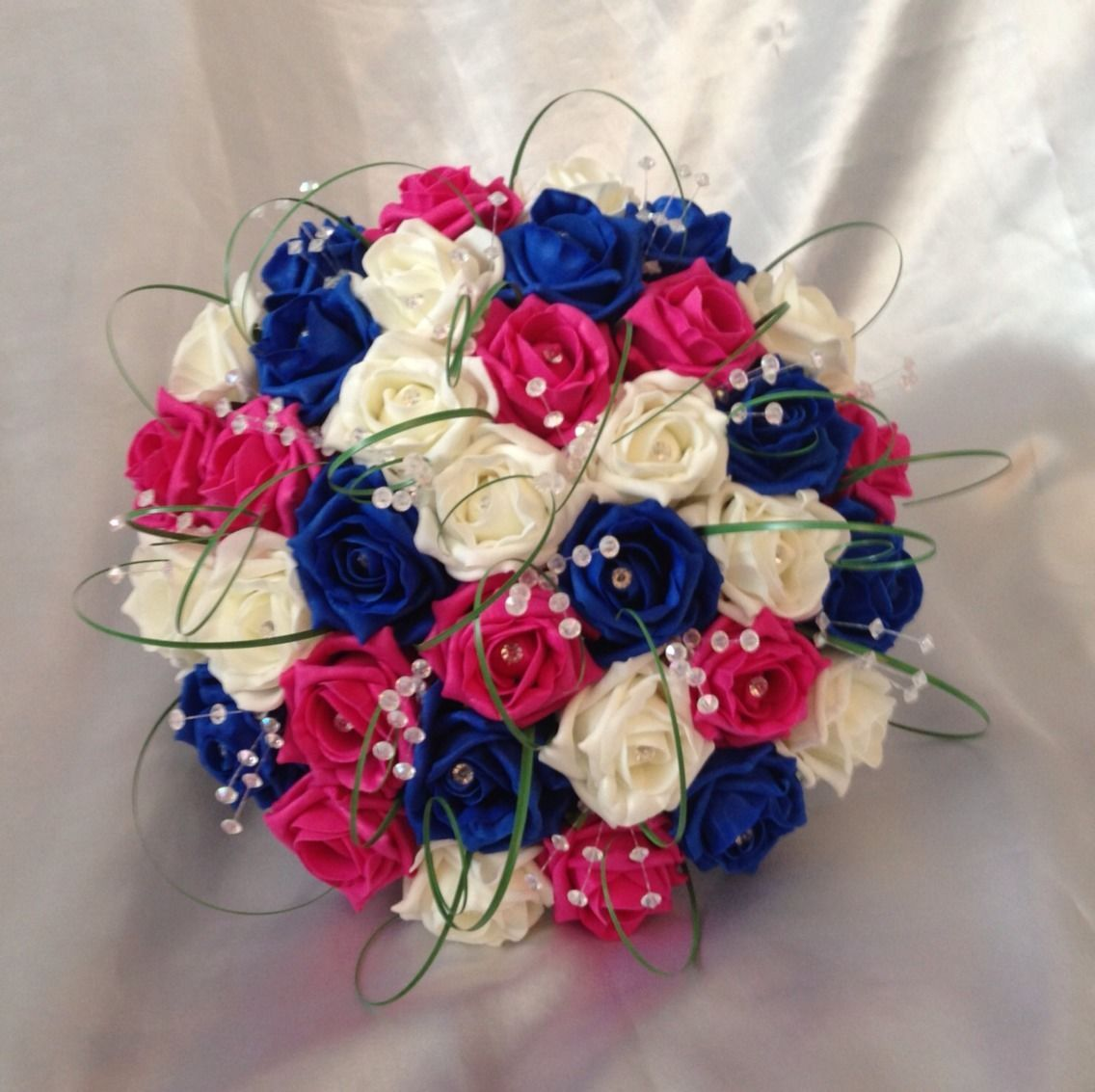 Wedding Cake Flower Decorations Uk